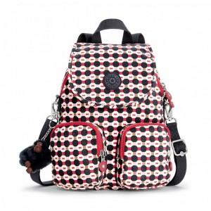 Kipling Petit sac à dos transformable en sac à bandoulière ShapeMix Pas Cher