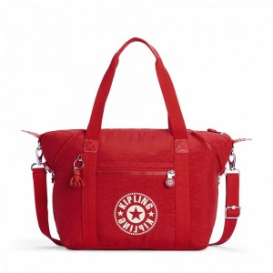 Kipling Sac Cabas avec Sangle Détachable Lively Red [ Soldes ]