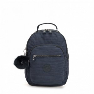 Kipling Sac à dos avec compartiment pour tablette True Dazz Navy [ Promotion Black Friday 2020 Soldes ]