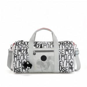 Kipling Grand sac de voyage en tissu jersey 1928 Block Pas Cher
