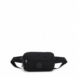 Kipling Small crossbody (convertible to waistbag) Rich Black [ Soldes ]