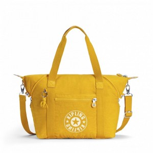 Kipling Sac Cabas avec Sangle Détachable Lively Yellow [ Soldes ]
