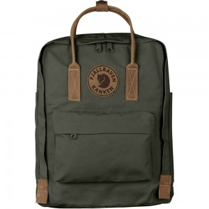FJALLRAVEN Kånken No.2 - Sac à dos - olive Olive [ Promotion Black Friday 2020 Soldes ]