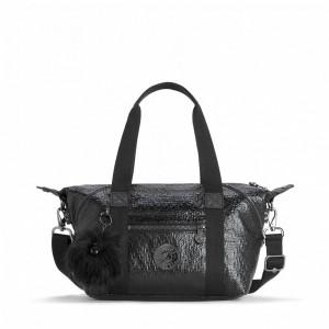 Kipling Mini sac fourre-tout avec bandoulière amovible Shocking Black [ Soldes ]