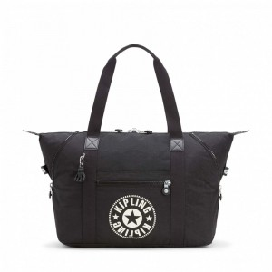 Kipling Sac Cabas Medium avec 2 Poches Frontales Lively Black Pas Cher