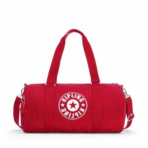 Kipling Sac Polochon Polyvalent Lively Red Pas Cher