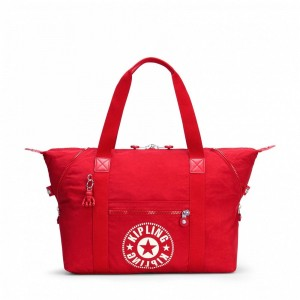 Kipling Sac Cabas Medium avec 2 Poches Frontales Lively Red [ Promotion Black Friday 2020 Soldes ]