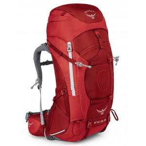 Osprey Sac à dos de trekking femme - Ariel AG 65 Picante Red - Marque [ Soldes ]