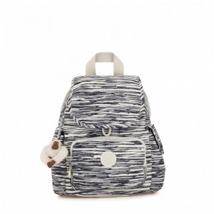 Kipling Sac à Dos City Pack Mini Scribble Lines [ Soldes ]