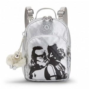 Kipling Petit sac à dos à bandoulière 3 en 1 Star Wars SAND STORM Pas Cher