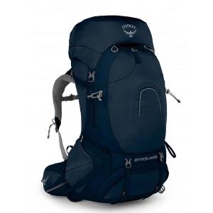 Osprey Sac à dos de randonnée/trekking homme, Atmos AG 65  Unity Blue [ Soldes ]