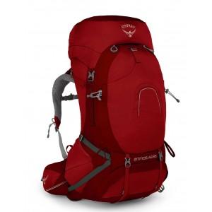 Osprey Sac à dos de randonnée/trekking homme, Atmos AG 65  Rigby Red [ Soldes ]