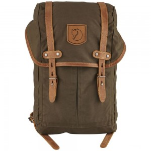 FJALLRAVEN No. 21 - Sac à dos - Small olive Olive Pas Cher