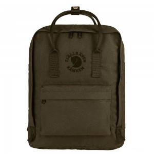 FJALLRAVEN Sac à dos RE- KÅNKEN 16L Olive [ Promotion Black Friday 2020 Soldes ]