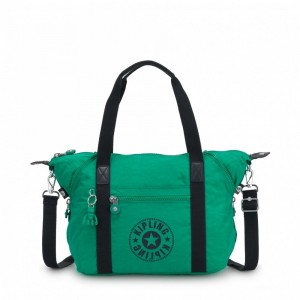 Kipling Sac Cabas avec Sangle Détachable Lively Green