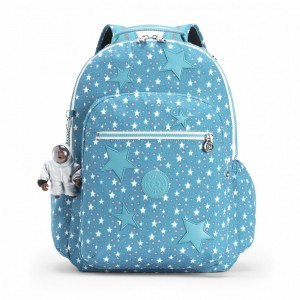 Kipling Grand Sac à Dos avec Protection pour Ordinateur Portable Fun Star Girl