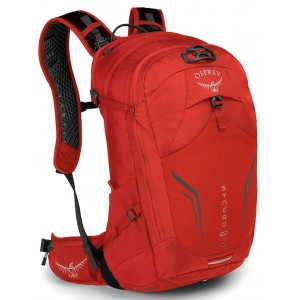 Osprey Sac à dos Vélo Mixte - Syncro 20 Firebelly Red [ Promotion Black Friday 2020 Soldes ]