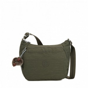 Kipling Sac à Main Imprimé avec Sangle Extensible Jaded Green C [ Soldes ]