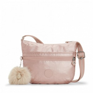 Kipling Petit Sac Bandoulière Metallic Blush [ Promotion Black Friday 2020 Soldes ]