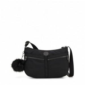 Kipling Sac Épaule à Bandoulière Taille Moyenne True Dazz Black [ Soldes ]