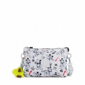 Kipling Grand sac à bandoulière avec plusieurs compartiments Sketch Grey [ Soldes ]