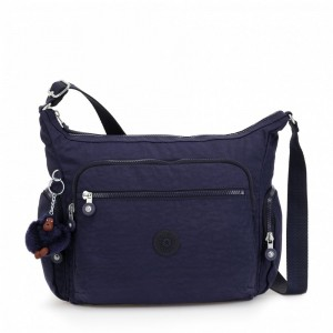Black Friday 2019 | Kipling Sac épaule Medium Avec Bretelle Ajustable Active Blue