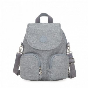 Kipling Small backpack (convertible to shoulderbag) Cool Denim Pas Cher