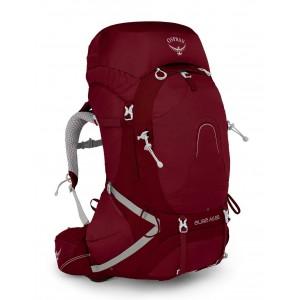 Osprey Sac à dos de randonnée/trekking femme, Aura AG 65  Gamma Red Pas Cher