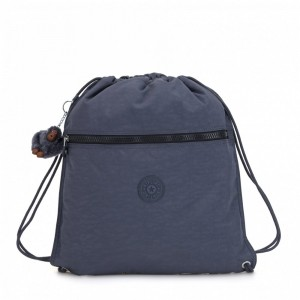 Kipling Grand Sac à Cordon True Jeans [ Soldes ]