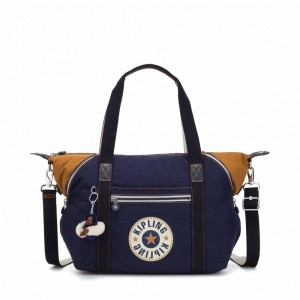 Kipling Sac à Main Active Blue Bl [ Promotion Black Friday 2020 Soldes ]