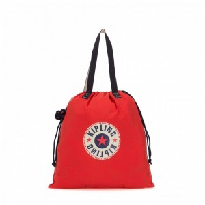 Kipling Grand fourre-tout pliable Active Red Bl [ Soldes ]