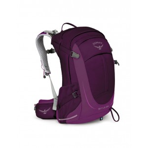Osprey Sac de randonnée femme - Sirrus 24 Ruska Purple - Marque [ Soldes ]