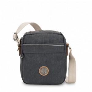 Kipling Petit sac à bandoulière avec poche à fermoir aimanté Casual Grey [ Soldes ]