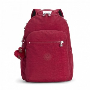 [ Black Friday 2019 ] Kipling Grand Sac à Dos Avec Protection Pour Ordinateur Portable Radiant Red C