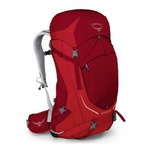 Osprey Sac à dos de randonnée homme - Stratos 50 Beet Red - Marque [ Promotion Black Friday 2020 Soldes ]