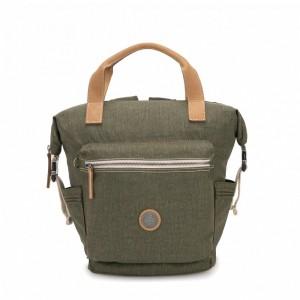 Kipling Petit sac à dos avec bretelles semi-amovibles Urban Khaki [ Soldes ]