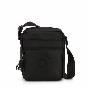 Kipling Petit sac à bandoulière avec poche à fermoir aimanté Raw Black [ Soldes ]