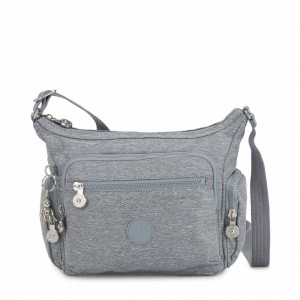 Kipling Petit sac bandoulière à compartiments multiples Cool Denim [ Soldes ]