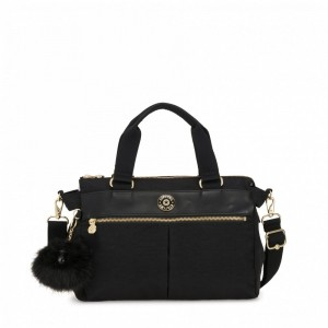 Kipling Small shoulderbag (with removable shoulderstrap) Black Wk [ Soldes ]