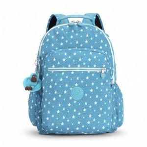 Kipling Grand Sac à Dos avec Protection pour Ordinateur Portable Cool Star Girl [ Promotion Black Friday 2020 Soldes ]