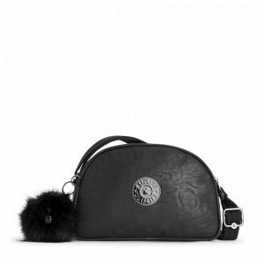 Kipling Sac Bandoulière Black Foam [ Soldes ]