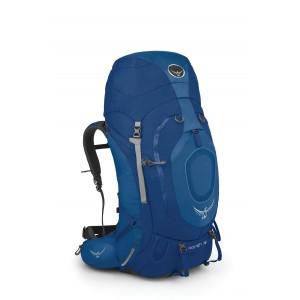 Osprey Sac à dos pour la grande randonnée et le voyage, Xenith 75 Mediterranean Blue de la gamme [ Soldes ]
