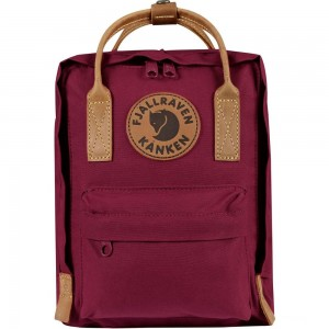 [ Black Friday 2019 ] FJALLRAVEN Kånken No.2 Mini - Sac à dos - rose/violet Violet