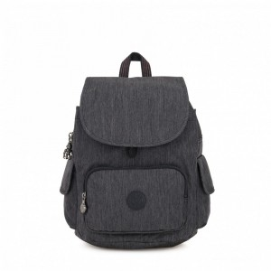 Kipling Small backpack Active Denim [ Promotion Black Friday 2020 Soldes ]